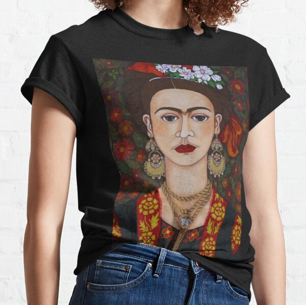 The butterflies and the woman with populated eyebrows Classic T-Shirt