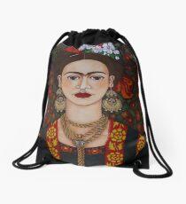 Frida Kahlo mit Schmetterlingen Turnbeutel