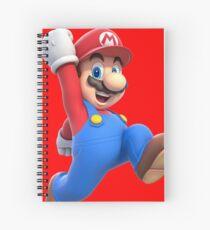 Super Mario Spiral Notebook