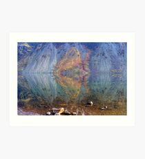 Wastwater Abstract Art Print