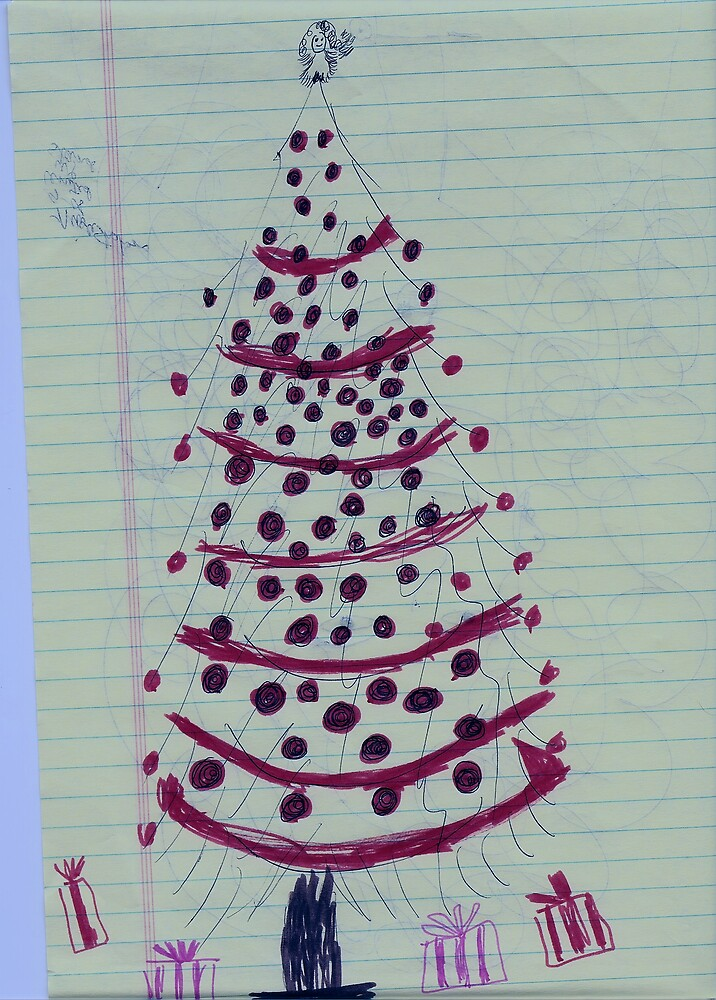 CHRISTMAS TREE WITH GIFTS by nikla01
