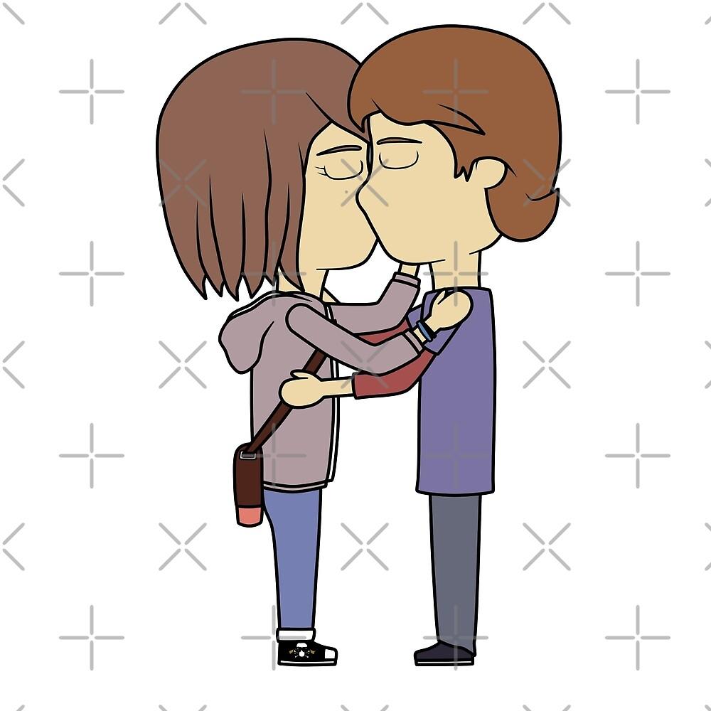 Warren kiss by Harpuia