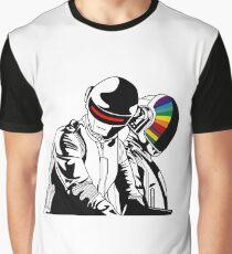 Daft Punk Music Graphic T-Shirt