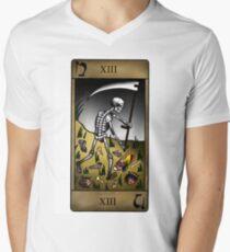 Death Tarot Men's V-Neck T-Shirt