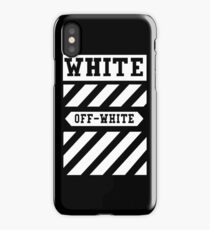 off black and white iPhone Case/Skin