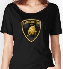 Lamborghini Gold Shield Women's Relaxed Fit T-Shirt