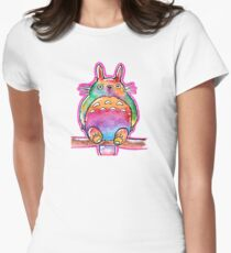 Cute Colorful Totoro! Tshirts + more! (watercolor) Jonny2may T-Shirt