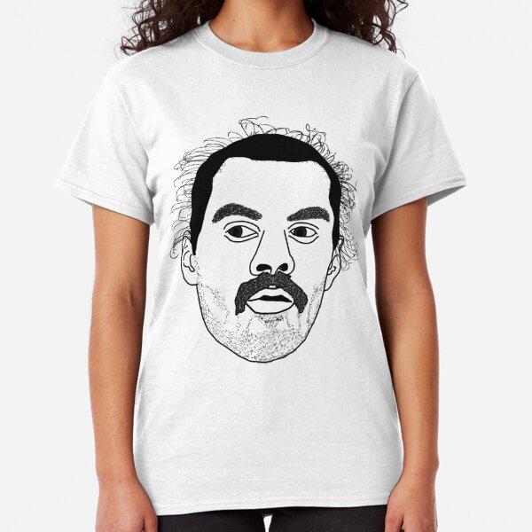 STEVEN ADAMS FREDDIE MERCURY LOOK-A-LIKE OKC THUNDER DESIGN Classic T-Shirt