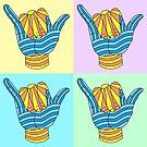 Shaka Surf Party T Shirt by Fangpunk