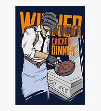 PUBG - Winner, Winner Chicken Dinner Merchandise Photographic Print