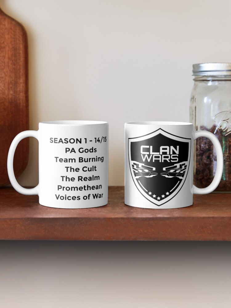 Alternate view of Clanwars - Season 1 - Mug  Mug