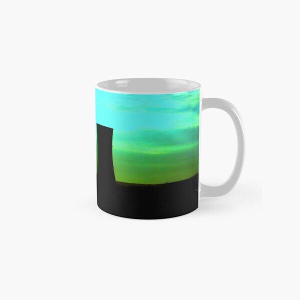 tinsley towers at dawn distant shot Classic Mug