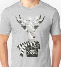 Christmas Bright Reindeer  T-Shirt