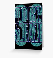 TORY SLEAZE Greeting Card