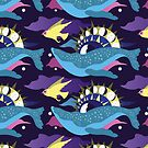 Celestial Whale Pattern by Wolven-Empress