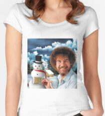 Christmas Bob Women's Fitted Scoop T-Shirt