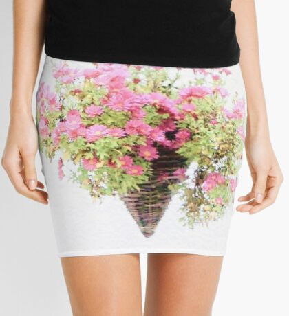 Chrysanthemums Mini Skirt