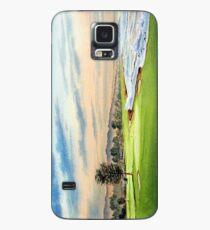 Pebble Beach Golfplatz 18 Loch Hülle & Klebefolie für Samsung Galaxy