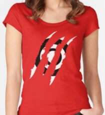 McCall pack claw marks Women's Fitted Scoop T-Shirt