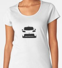 Mazdaspeed3 Rear Silhouette (Black) Women's Premium T-Shirt