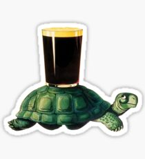 Guinness Turtle Sticker
