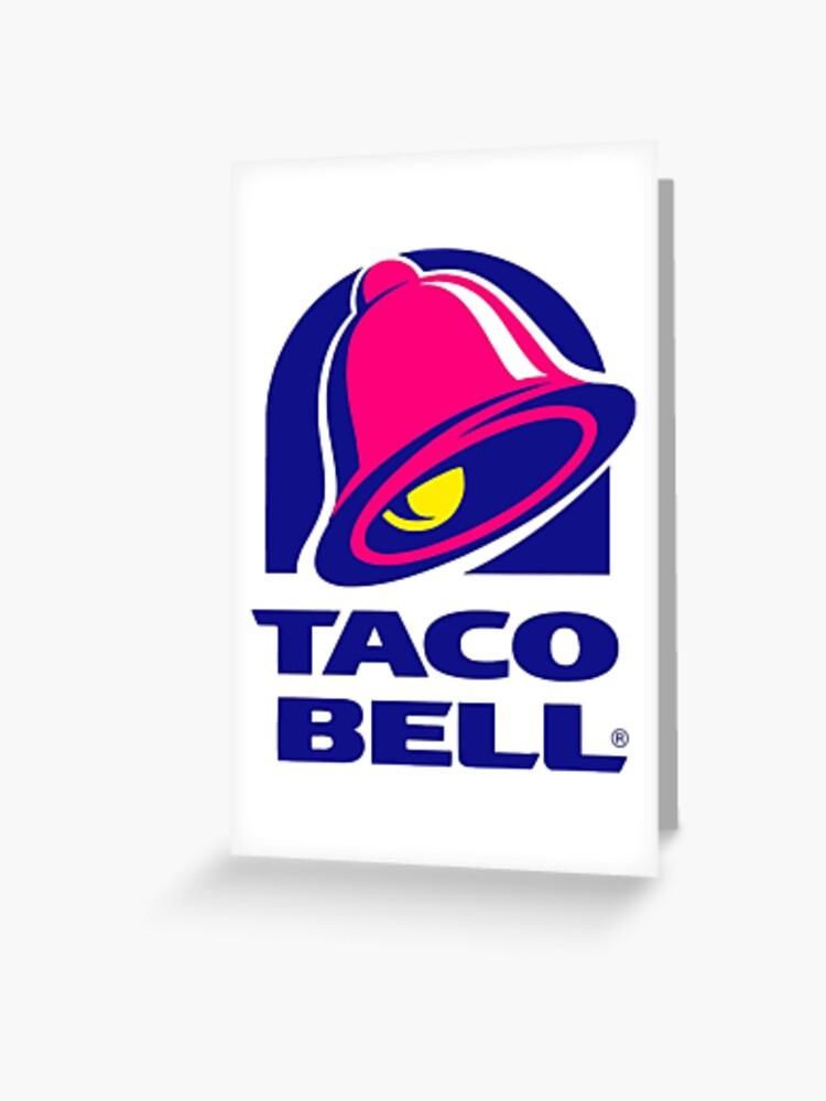 Taco Bell Logo | Greeting Card