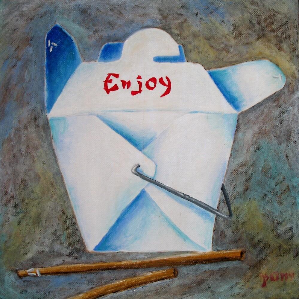 Enjoy-Chinese Food by Pamela Burger