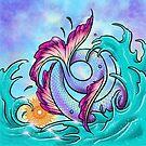 Mermaid Tail Sploosh by SharpTattoos