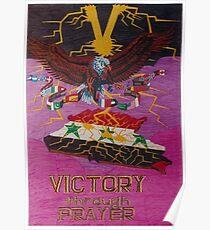 Victory Through Prayer Poster