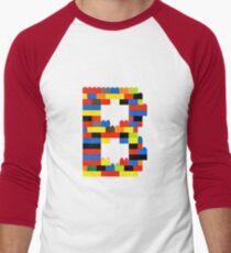 B t-shirt Men's Baseball ¾ T-Shirt