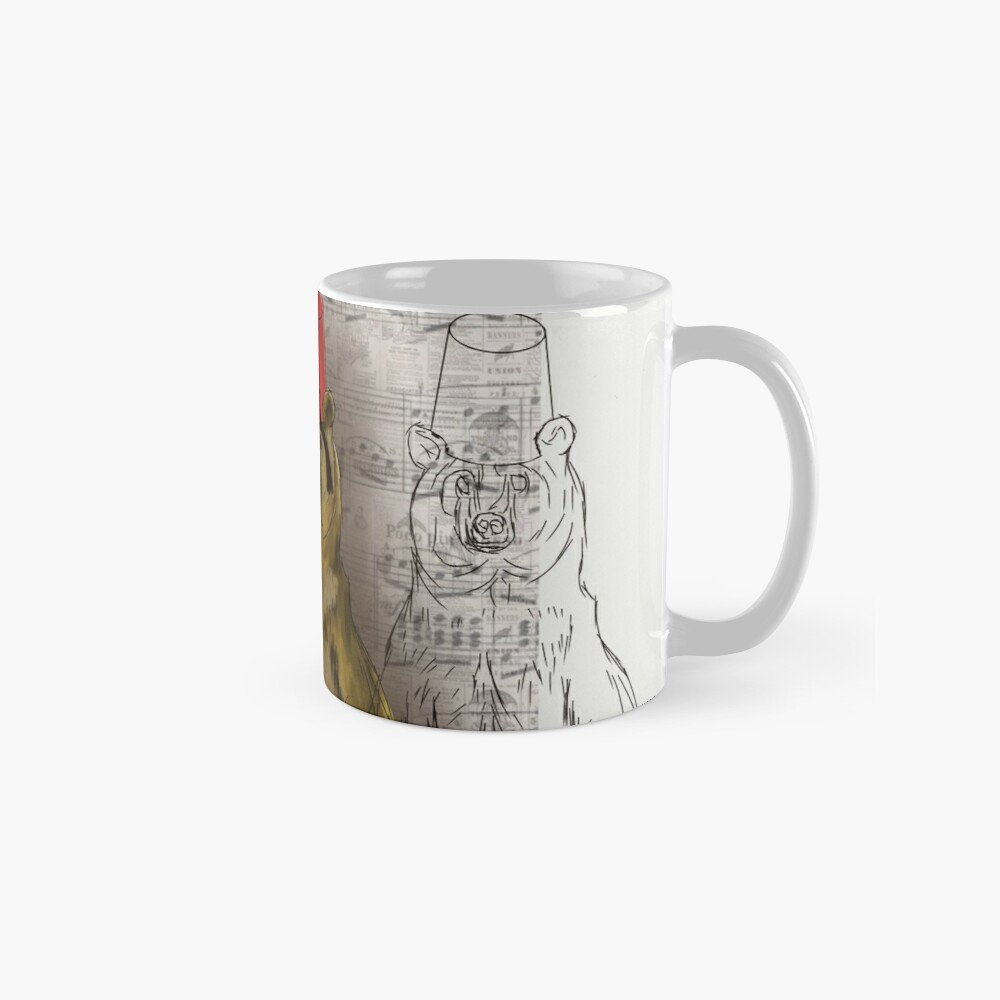 beware the bear Standard Mug