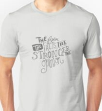The Fewer the Facts, the Stronger the Opinion Unisex T-Shirt