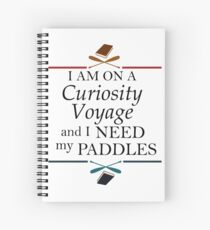 Curiosity Voyage - Stranger Things Spiral Notebook