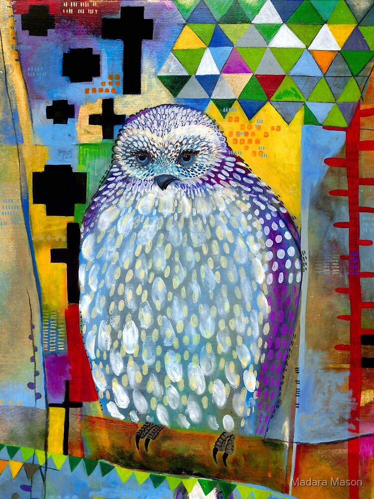 Mantling Owl by madaramason
