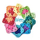 Happy Everything Granny Squares by QueenBabs