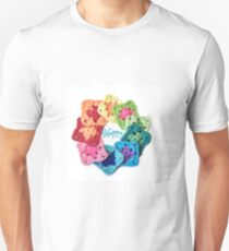 Happy Everything Granny Squares T-Shirt