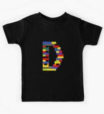 D t-shirt Kids Clothes