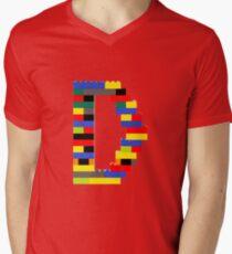 D t-shirt Men's V-Neck T-Shirt