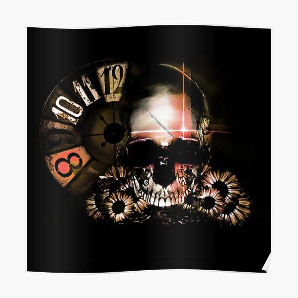 Skull 02 Poster