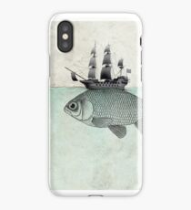 Voyage Goldfish iPhone Case