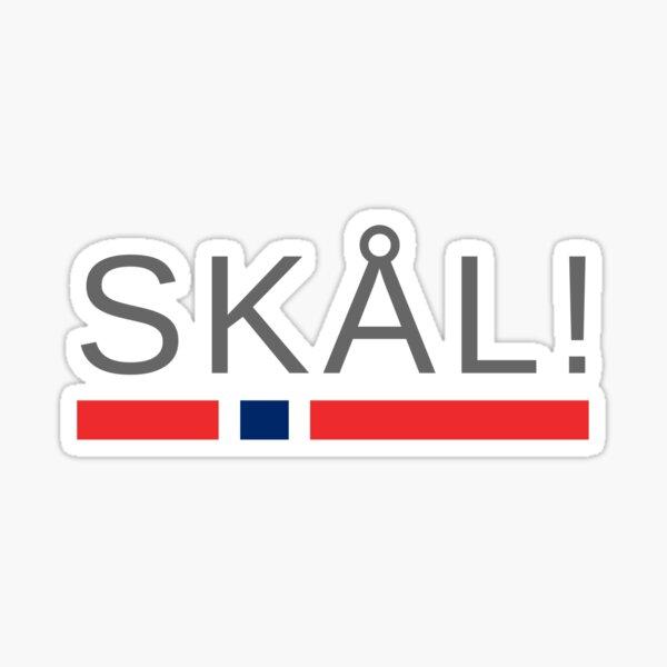 Norway Cheers! | Skål! Sticker