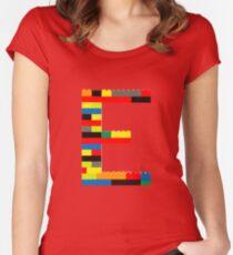 E t-shirt Women's Fitted Scoop T-Shirt