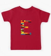 E t-shirt Kids Clothes