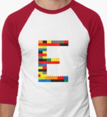 E t-shirt Men's Baseball ¾ T-Shirt