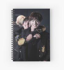 Cuaderno de espiral taekook, vkook, jungkook y taehyung, bts