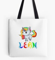 Bolsa de tela Lean Unicorn Sticker