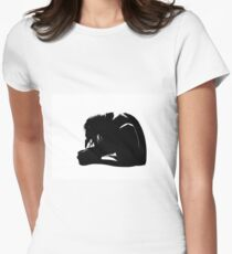 Nude Silhouette Women's Fitted T-Shirt