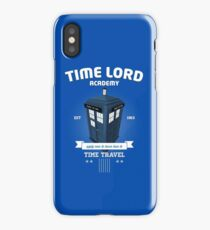 Timelord Academy iPhone Case/Skin