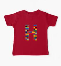 H t-shirt Kids Clothes