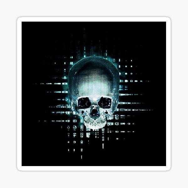 Skull 09 Sticker